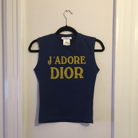 00f0b5418 Dior Tops | Jadore Sleeveless Top | Poshmark